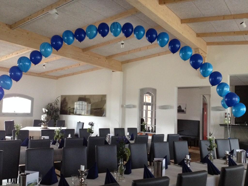 """Helium-Ballonbogen """"Magic"""" z.B. Blautöne, 25 Stück 89€ zur Jugendweihe, Hochzeit, Jubiläum usw."""